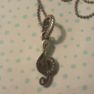 Jewelry - 🎵 2 FOR 10 JEWELRY Silver Music Note Necklace 🎵